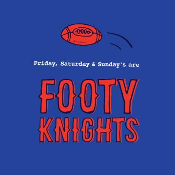 Footy Knights